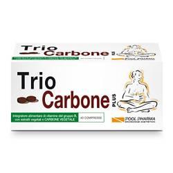 TRIOCARBONE Plus Integratore 40 capsule