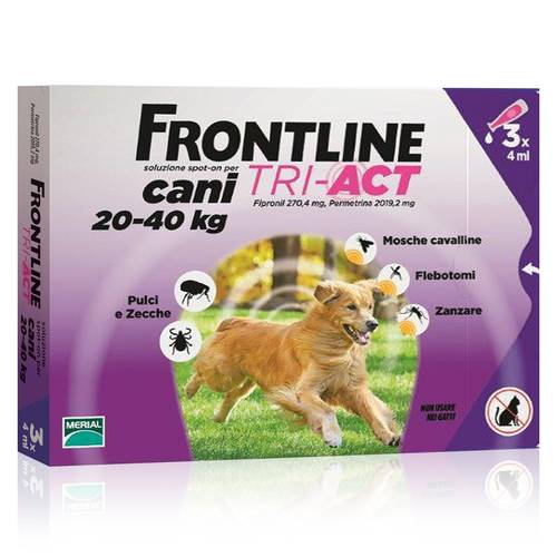 FRONTLINE TRI-ACT*3PIP 4ML