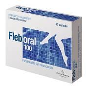 FLEBORAL Integratori 15 capsule 5,25 g