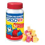 ORSOVIT Caramelle Gommose Vitamine Bimbi 60 pastiglie